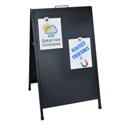 """24"""" x 36"""" A-Frame Sign Super Strong Angle Iron Frame Hardware"""