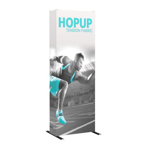 Hopup 3ft Fabric Pop up Display
