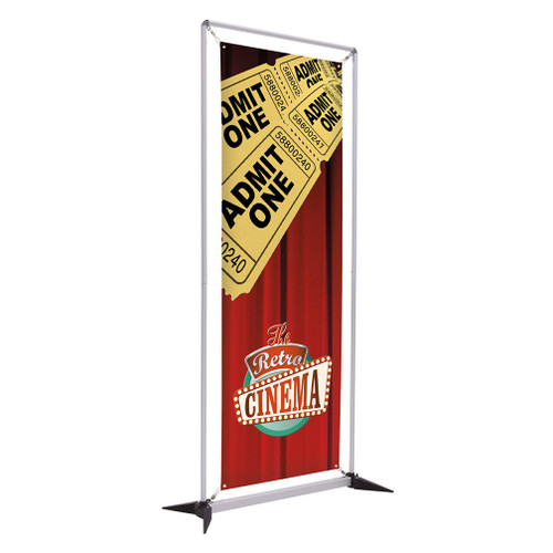 3' FrameWorx Banner Display Kit (Single-Sided, No-Curl Opaque Fabric) (263065