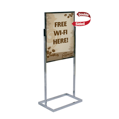Rectangular Tubing Sign Kit- Double Sided Graphic