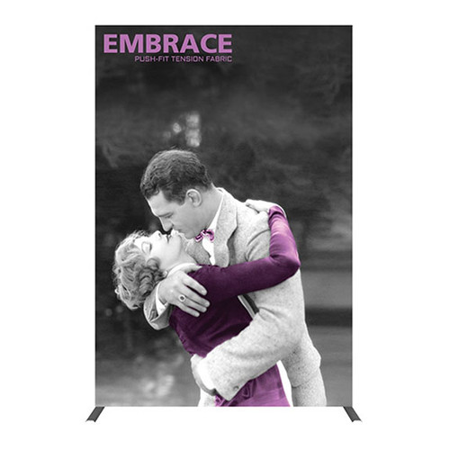 New SEG 5ft Pop Up Frame 2x3 w/ Full Silicone Edge Graphics