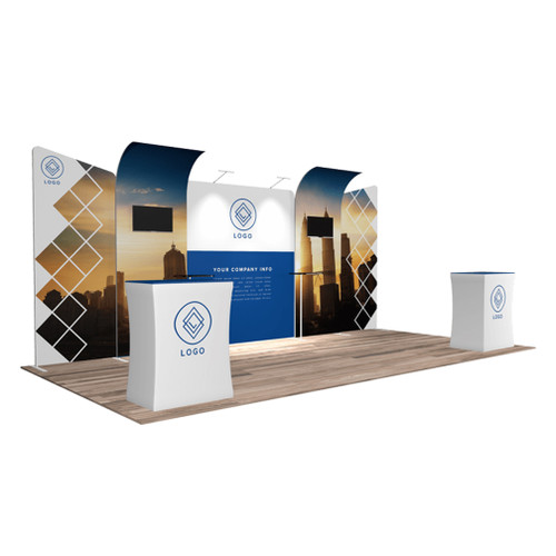 10'x20′ Quick-N-Fit Booth – Kit 1211