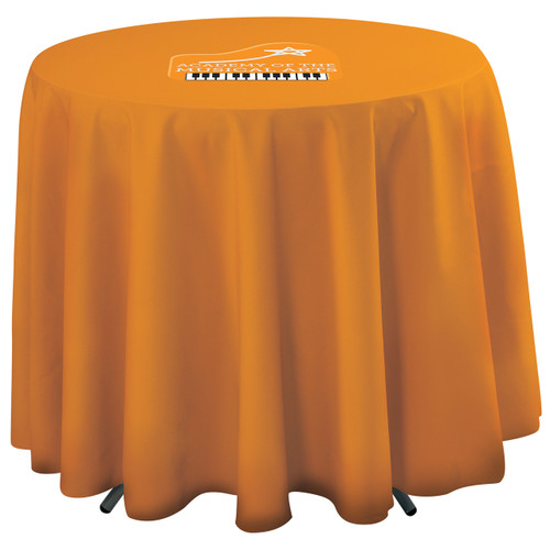 31.5 Inch Round Table Throw with 27 inch overhang (Full-Color, Full Bleed) (114040)