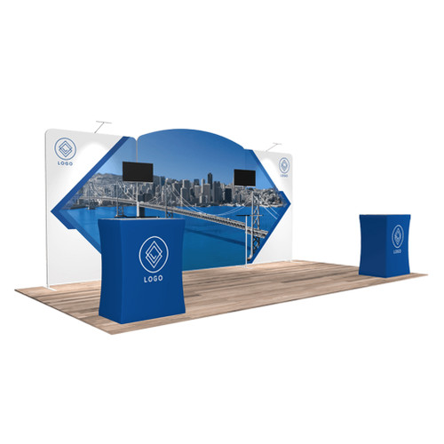 10'x20′ Quick-N-Fit Booth – Kit 1207