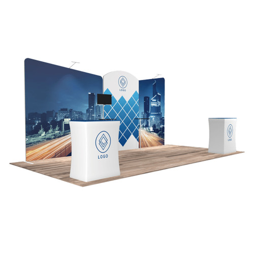 10'x20′ Quick-N-Fit Booth – Kit 1208