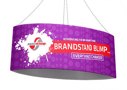Blimp Ellipse Oval Hanging Signs - Football
