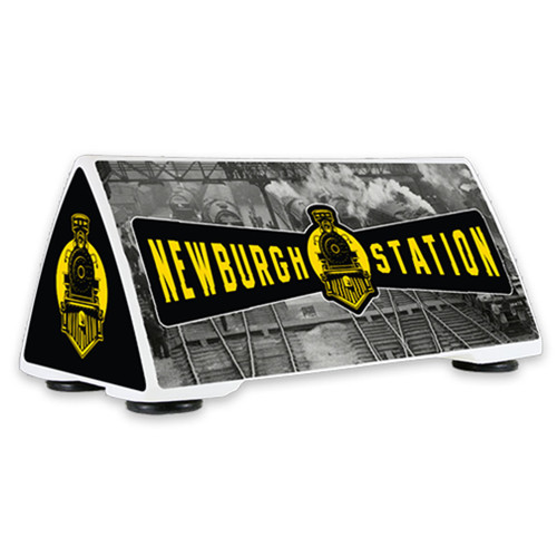 Car Top LED Lighted Sign- Large