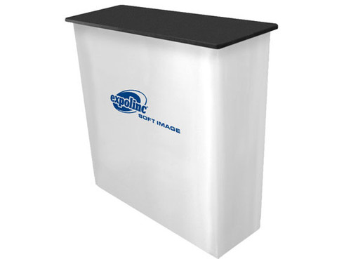 Soft Image Counter Expolinc Podium with Fabric Graphic