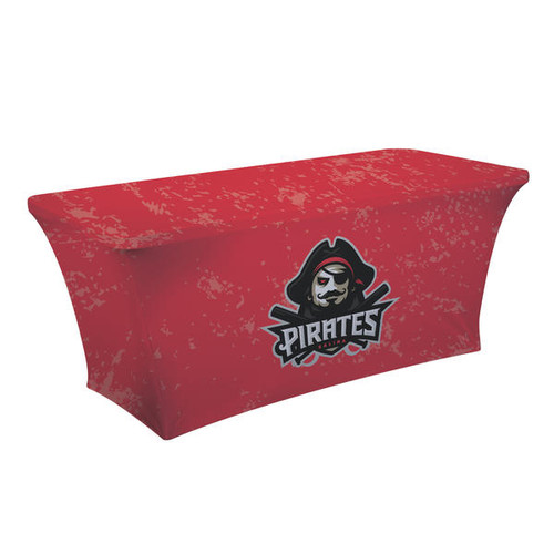 6ft UltraFit Classic Table Throw (Full-Color Dye Sublimation, Full Bleed)
