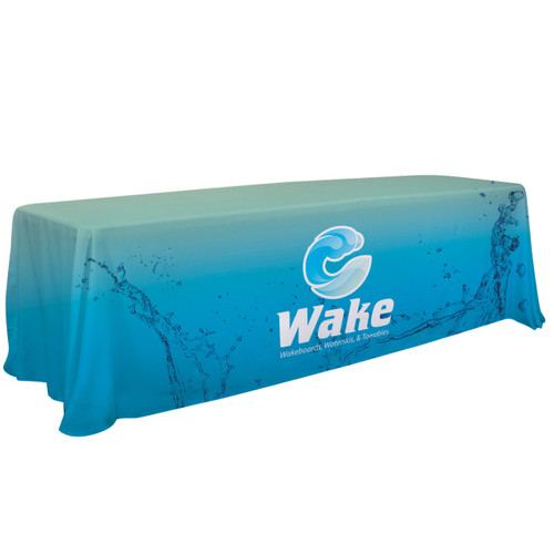 6'/8' Convertible Table Throw (Dye Sublimation, Full Bleed)