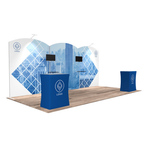 10'x20′ Quick-N-Fit Booth – Kit 1215