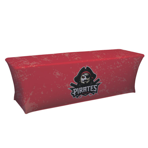 8ft UltraFit Classic Table Throw (Full-Color Dye Sublimation, Full Bleed)