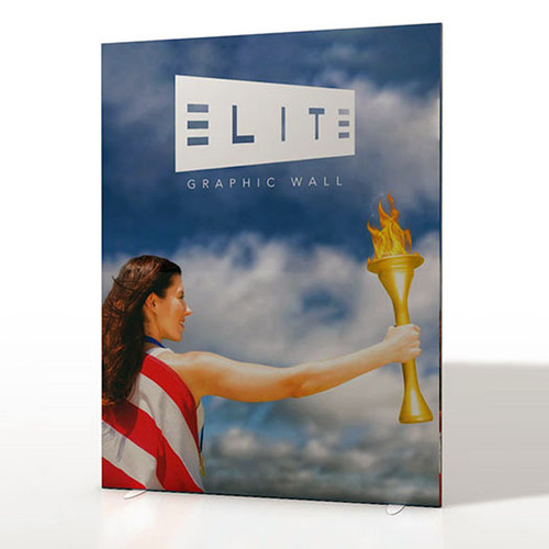 Elite Graphic Wall 6' x 8' Printed Fabric Display