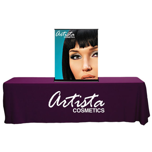 """36"""" SilverStep Retractable Banner Stand Tabletop"""