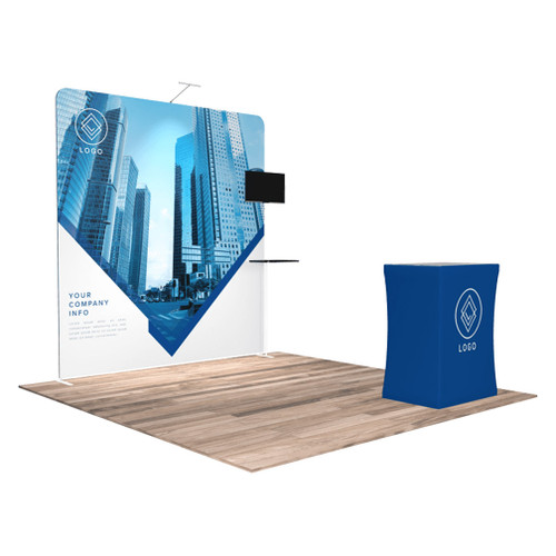 10'x10′ Quick-N-Fit Booth – Kit 1109