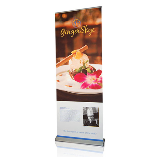 QuickScreen 3 Retractable Fabric Banner