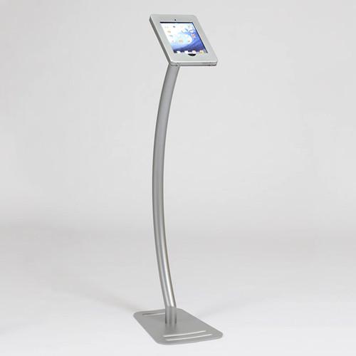Portable iPad Kiosk MOD-1336 Exclusive Portrait to Landscape Swivel Stop™ Feature