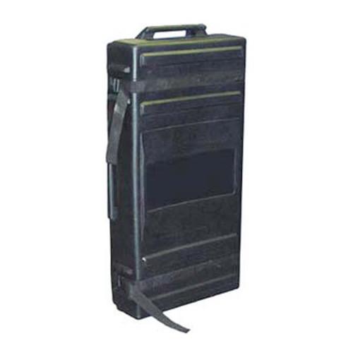 Flat Shipping Case Black Roto-Molded w/Wheels 50 x 24