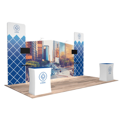 10'x20′ Quick-N-Fit Booth – Kit 1205