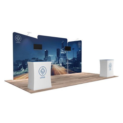10'x20′ Quick-N-Fit Booth – Kit 1204