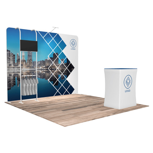 10'x10′ Quick-N-Fit Booth – Kit 1112