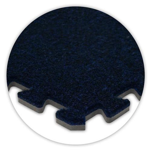Soft Carpet Navy Blue Flooring