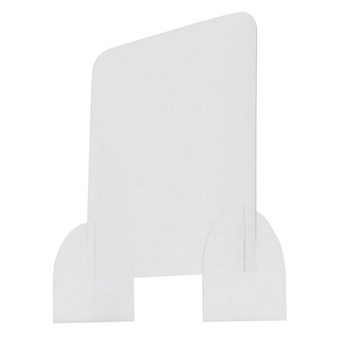 "24"" x 24"" Protective Acrylic Counter Barrier"