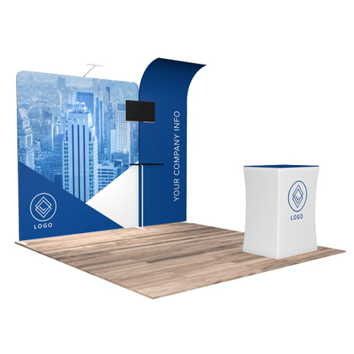10'x10′ Quick-N-Fit Booth – Kit 1110