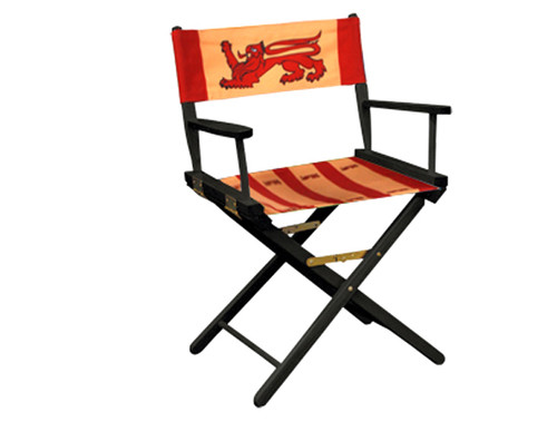 "Director Chairs Standard Height 18"" Dye Sublimation"