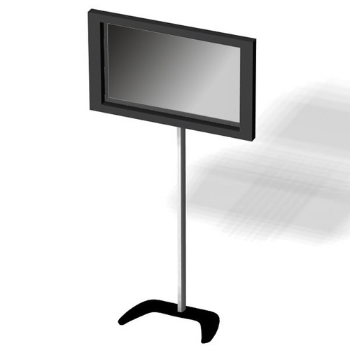 Fabric Pop Up Display Monitor Stand