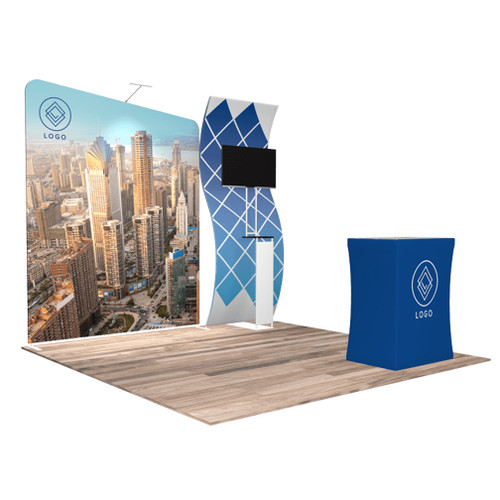 10'x10′ Quick-N-Fit Booth – Kit 1106