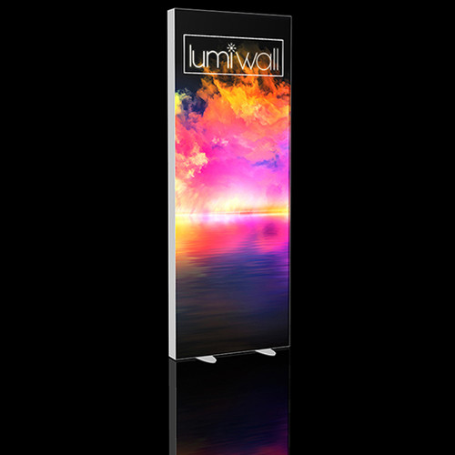 LumiWall 3' x 8' LED Backlit Printed Fabric Display