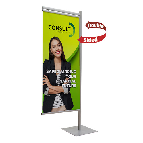 Side Snap Double Sided Banner Kit