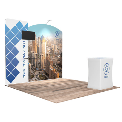 10'x10′ Quick-N-Fit Booth – Kit 1108