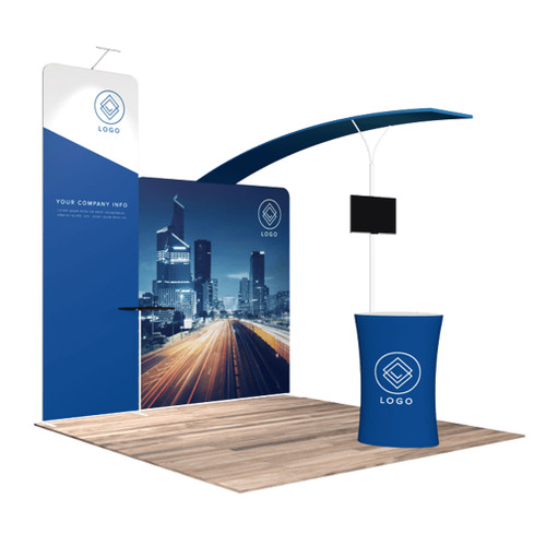 10'x10′ Quick-N-Fit Booth – Kit 1103