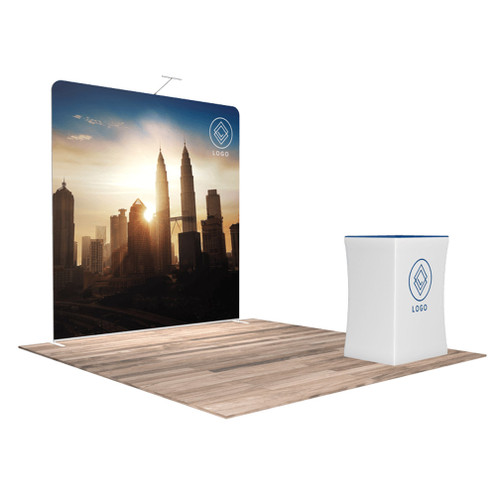 10'x10′ Quick-N-Fit Booth – Package 1107