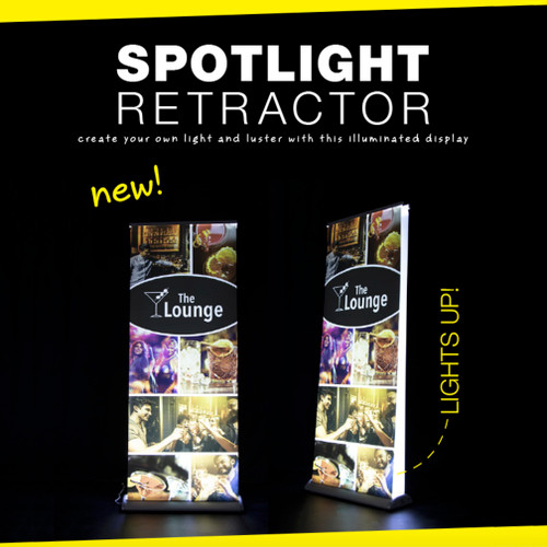 31.5 Spotlight Retractor Double Sided Graphic Kit