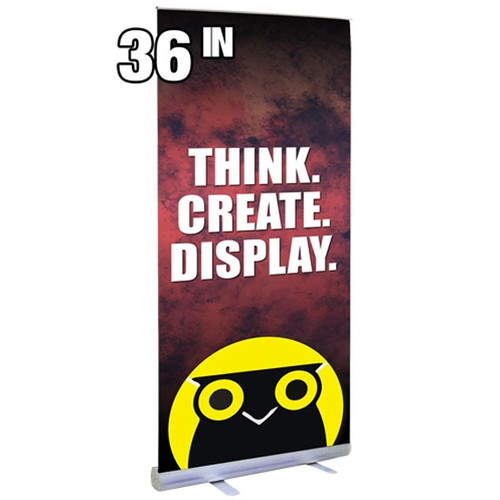 """36"""" Econo Roll Retractable Banner Stand"""