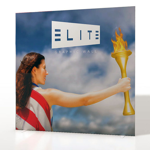 Elite Graphic Wall 8' x 8' Printed Fabric Display