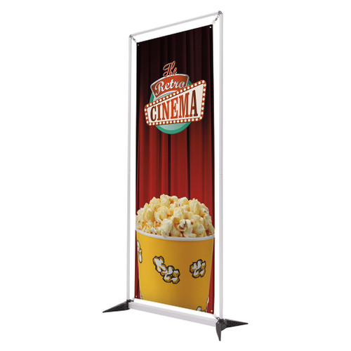 3.5' FrameWorx Banner Display Kit (Single-Sided, No-Curl Opaque Fabric) (263074)