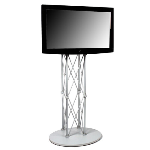 Monitor Stand Kiosk EZ Fold Portable 74 Inch Tall Flat Panel Stand for 40-70 Inch TV's