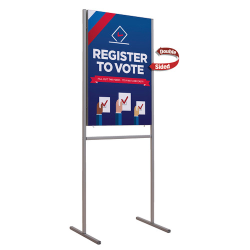 Impress Kit With Double sided Fabric Sign