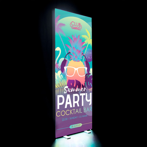 3ft x 8ft Fusion Glo Double Sided Display Kit