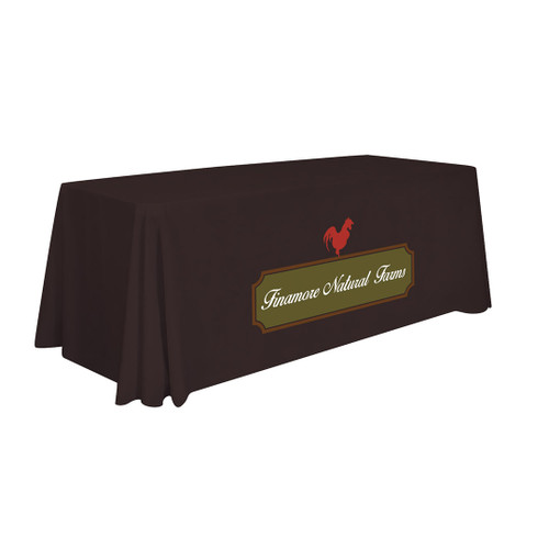 6ft Standard Table Throw (Full-Color Imprint) (109002)