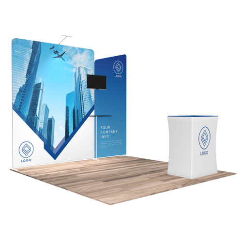 10'x10′ Quick-N-Fit Booth – Kit 1105