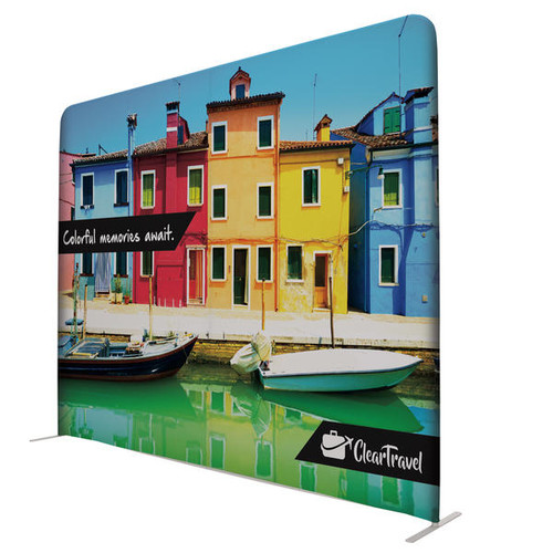 """10ft W x 90""""H EuroFit Wall Double-Sided Display Kit"""