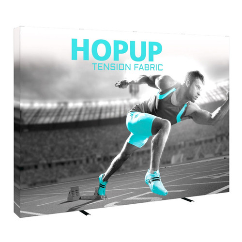 10ft Hop up Fabric Pop up Display