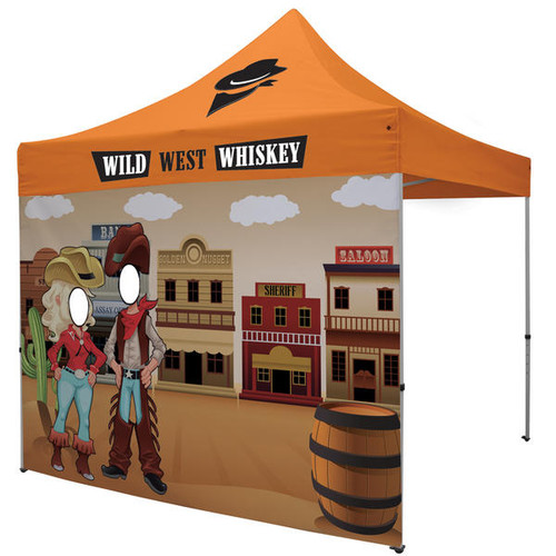 10ft Face Cutout Tent Full Wall (240369)