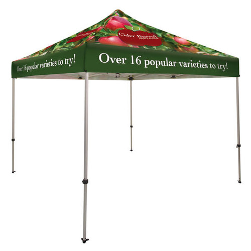 Ultimate Aluminum 10' x 10' Event Tent Kit (Full-Color, Full Bleed Dye-Sublimated) (240949)