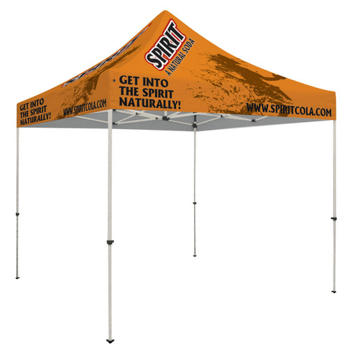 Premium Steel 10' x 10' Event Tent Kit (Full-Color, Full Bleed, Dye-Sublimated) (240939)